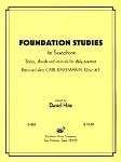 Foundation Studies for Saxophone