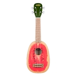 KAWTML Kala Silk-Screen Watermelon Soprano Uke