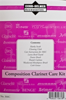 366C Conn-Selmer Clarinet Care Kit