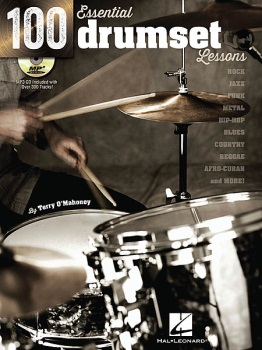 100 Essential Drumset Lessons w/CD